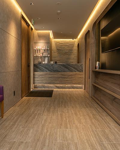 快適な空間で質の高い治療を提供